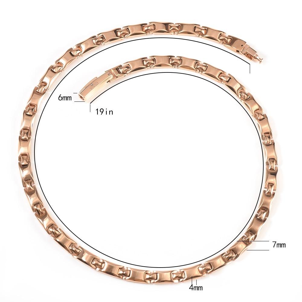 Wollet nakit zdravje energija titan magnetna ogrlica za ženske - Modni nakit - Fotografija 6