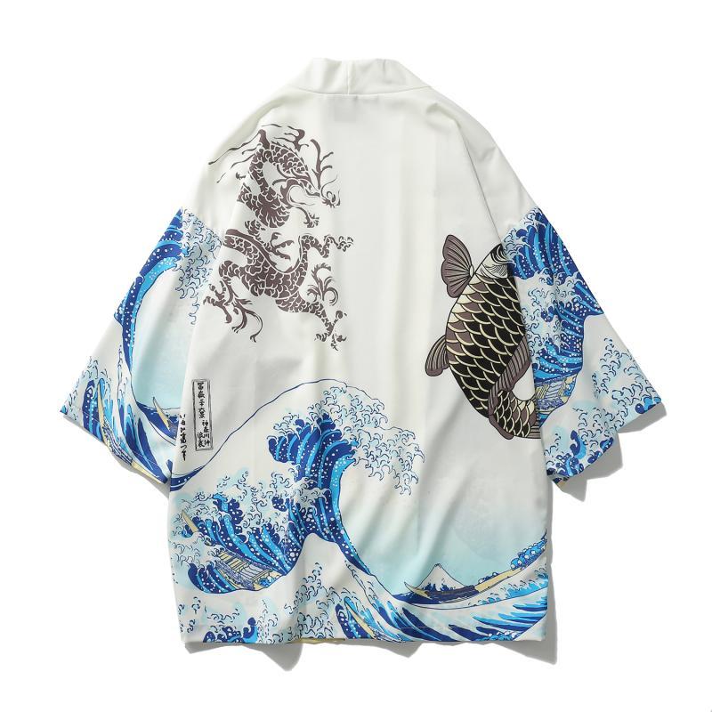 HTB12WpmX6fguuRjy1zeq6z0KFXaA Zongke Japanese Kimono Cardigan Men Wave and Carp Print Long Kimono Cardigan Men Thin Mens Kimono Cardigan Jacket Coat 2018