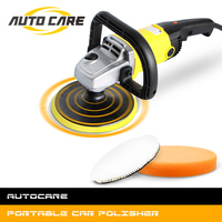 1200W Car Polisher Variable Speed 3000rpm 180mm Car Paint Care Tool Polishing Machine Sander 220V M14 Electric Floor Polisher