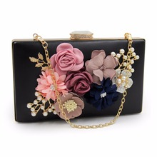 NATASSIE 2017 New Women Black Envelope Evening Clutch Bags Ladies Day Clutches Female Wedding Bag