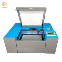 60w portable small desktop 6040 co2 laser cutter 300*500MM