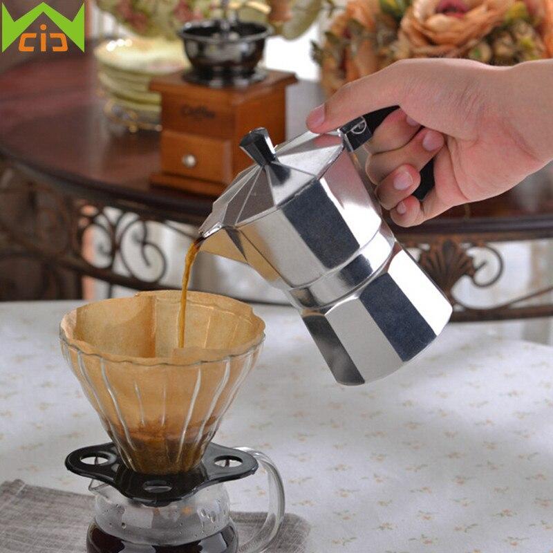 WCIC कॉफी पॉट इतालवी स्टोव - रसोई, भोजन कक्ष और बार