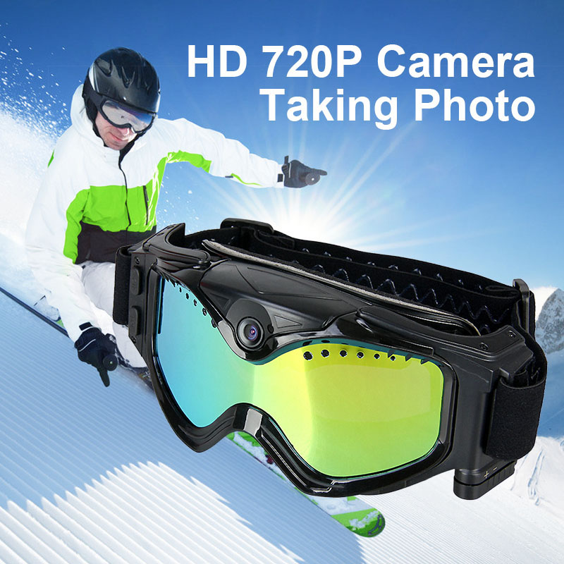 New Design HD 720P Camera Snow Goggles For Outdoor  Hunting  gs37-0026 gs 6301 hd купить во владимире