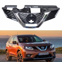 1 шт. Замена новый автомобиль Хром передний верхний решетка радиатора гриль для Nissan X Trail 2014 2016