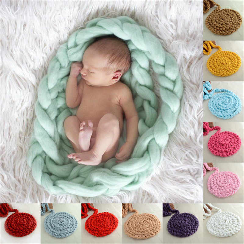 28089497b Detail Feedback Questions about Hot Knitted Crochet Blanket Mat Baby ...