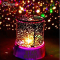 Romantic Birthday Star Projector Lamp Toys Led Night Lamp Projector Star Light Starry Rotation Night Lamp Valentine's Day Gift