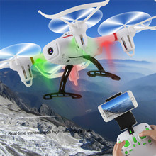 High Quqlity Mini RC Quadcopter 2.4GHz 4CH 6-Axis Gyro Drone WIFI FPV Camera Altitude Hold Gift For Children Free Shipping