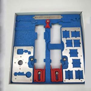 Image 4 - 12 IN 1 MIJING A22 + Moederbord Reparatie Armatuur PCB Houder JIG BOARD Voor iPhone 5 S/6/ 6 S/6SP/7/7 P/8/8 P/XR Onderhoud Platform