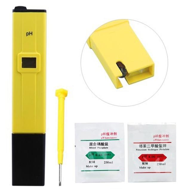1PCS Digital 0-14 PH Meter Conductivity Tester Hydroponics Aquarium Pool Water Test Tools Backlight LCD