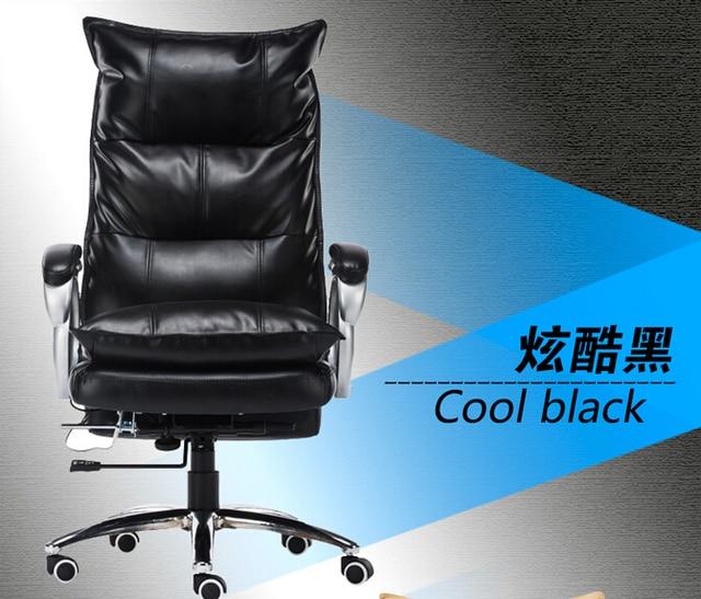 meilleur prix monsieur s 100 veritable en cuir chaise d ordinateur patron
