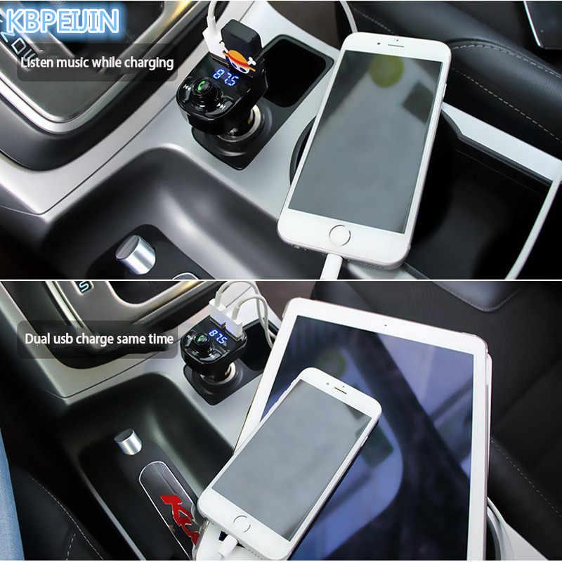 Car 5V 4 1A Dual USB Charger MP3 Audio Player Bluetooth Transmitter for  Volvo xc60 s60 s80 s40 v60 v40 xc90 v70 xc70 v50