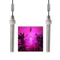 (2 cái/lốc) đầy đủ quang phổ 80 wát led grow ống ánh sáng cho thủy canh nhà kính lều cây hạt giống hoa rau phát triển bán buôn