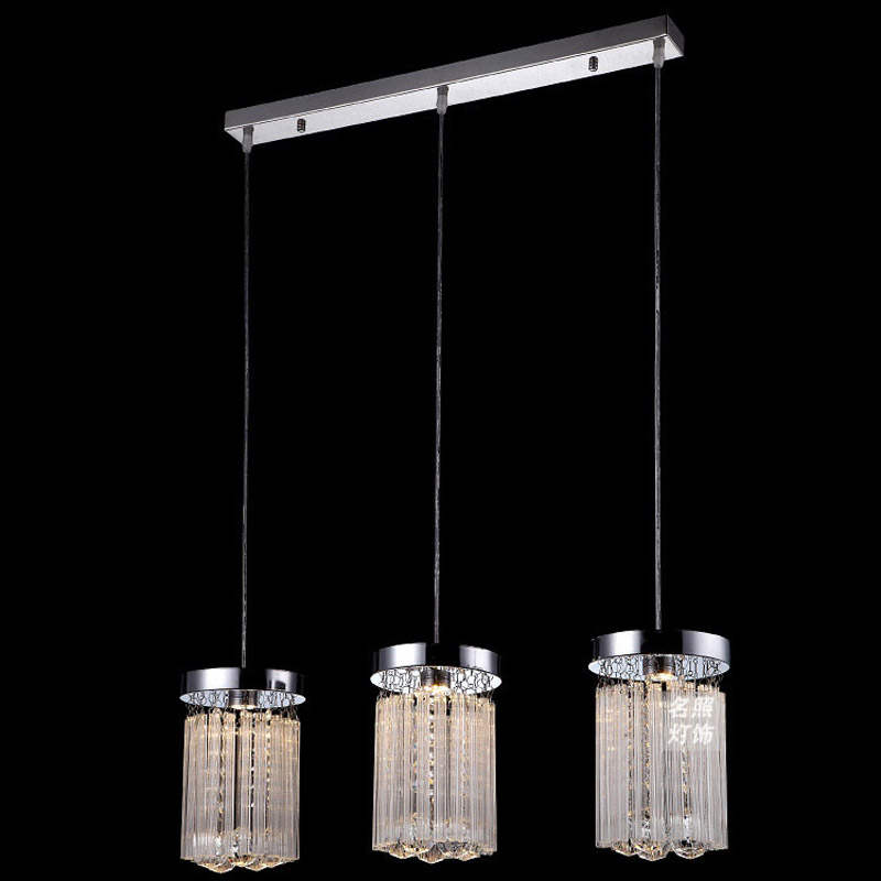 Modern Crystal Hanging Dining Room Pendant Light Reataurant Romantic Glass Sticks Porch Corridor Balcony Hallway Pendant LightModern Crystal Hanging Dining Room Pendant Light Reataurant Romantic Glass Sticks Porch Corridor Balcony Hallway Pendant Light
