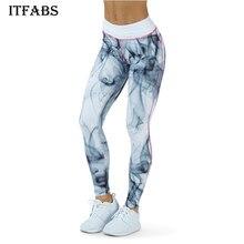 Sexo alta cintura estirada deportes Pantalones gimnasio ropa spandex Mallas  para correr mujeres deportes Leggings fitness ab0f428888c6