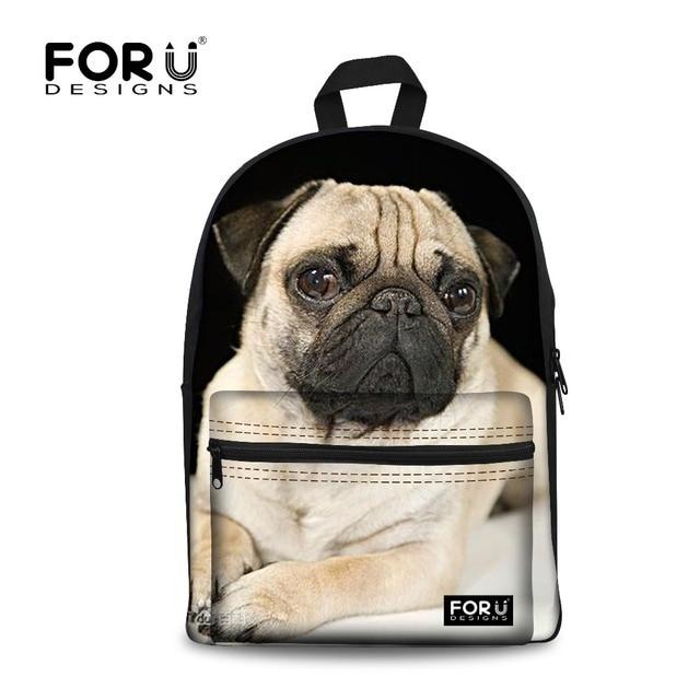 Сумка - рюкзак женская собаки шнурок рюкзаки