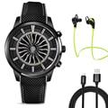 2017 Лучший Lemfo Lem5 Smart watch phone with MTK6580 1 ГБ RAM + 8 ГБ ROM Smartwatch Поддержка 3 Г Wi-Fi Nano СИМ-Карты GPS bluetooth