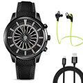 2017 melhor lemfo lem5 smart watch phone com mtk6580 1 gb ram + 8 GB ROM Suporte 3G WiFi Nano Cartão SIM GPS bluetooth Smartwatch