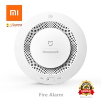 Xiaomi Mijia Honeywell Fire Alarm Detector Audible And Visual Alarm Work With Gateway Remote Notication Mihome