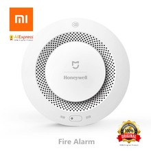 Xiaomi Mijia Honeywell Hearth Alarm Detector Authentic Audible Visible Smoke Sensor Distant Mi Residence APP Sensible Management