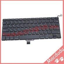 Brand New Ruso Teclado Del Ordenador Portátil 2009-2012 Para Macbook Pro A1278 MC700 MC724 MD313 MD314 RU Teclado Pequeño entrar reemplazo