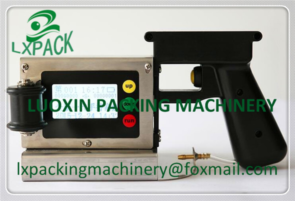 LX-PACK Lowest Factory Price Highest Quality LXPC18 Hand Using Inkjet Printer for Plastic Film Pipe Carton Glass Metal Wood etc lx pack brand lowest factory price long hand sealers longer sealing length 20 26 30 40seal width matching film rollers