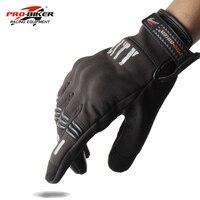 PRO BIKER Motorcycle Gloves Touch Screen Gants Motobike Bicycle Full Finger Knight Gloves Drop Resistance Gloves