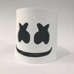 DJ Зефир свет маска модная Хэллоуин вечерние ночной клуб EVA белая маска для взрослых Косплэй костюм шлем продажа 2019 Новый