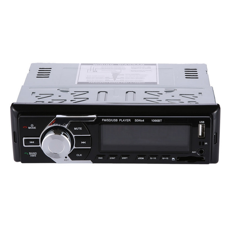 все цены на 1 Din MP3 Player 12V Bluetooth Car In-Dash MP3 Stereo Player USB SD AUX-IN FM Radio Hands-free+Remote Control+Power Cable