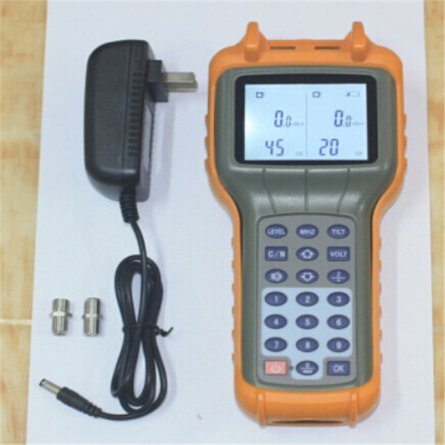 New RY-S110D CATV TV cabo Handle Digital Signal Level medidor DB Tester 5 - 870 MHz