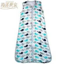 Bébé Sac de Couchage SleepSack Mousseline Couverture Mince Doux de Coton De Type Gilet Gaze Nouveau-Né Bébé Survêtement Nuit 83 CM & 90 CM