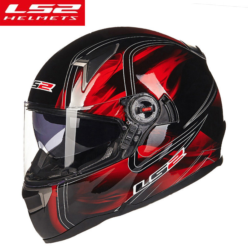 LS2 FF396 Full Face Motorcycle Helmet Man Woman capacete ls2 helmet casco moto motocross ECE certification ls2 helmet