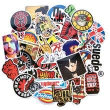 52 шт/лот Ретро рок группы музыкальные наклейки grean day rhcp