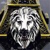 Bague lion tête