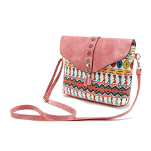 2017 Summer Vintage Bag For Women Messenger Bags Canvas Print Crossbody Shoulder Bag Small Ladies Designer Handbags High Quality