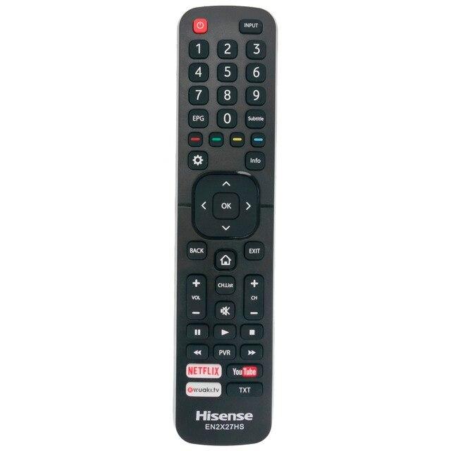 New Remote Control EN2X27HS for HISENSE TV H55M3300 H50M3300 H49M3000 H49M2600 H43MEC3050 H75M7900 H65M7000