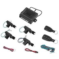 Universal Central Locking Alarm Security Kit Car Remote Control Central Door Lock Keyless Entry Anti theft System Car styling