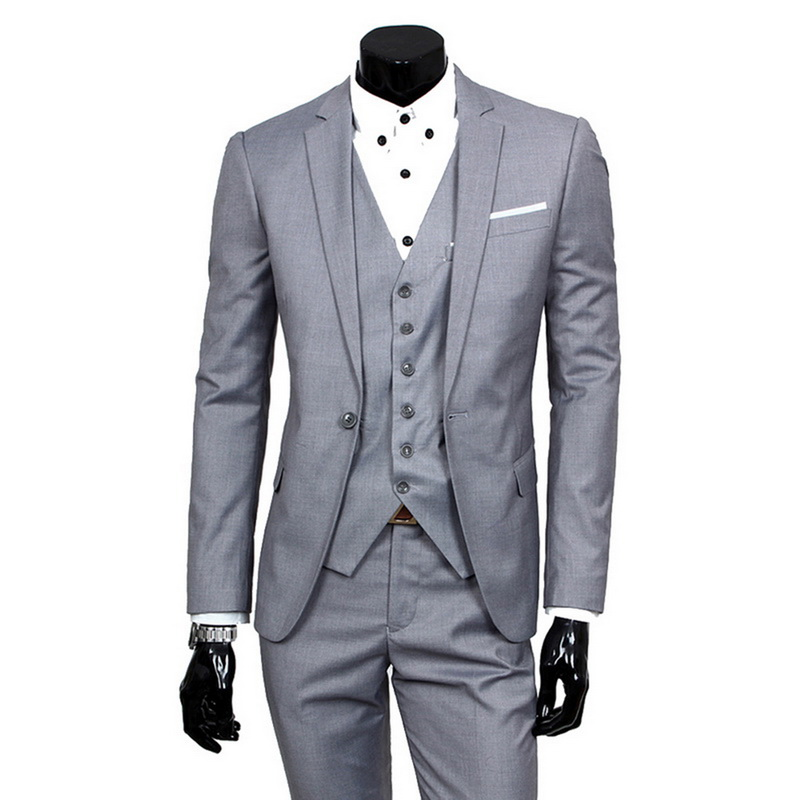 HTB12WwWa.GF3KVjSZFoq6zmpFXaX 2019 High Quality Men Blazer Masculino Thin Suits Fashionable Clothes Slim Fit Three Pieces Suit Blazer (Jacket+Pants+Vest) Sets
