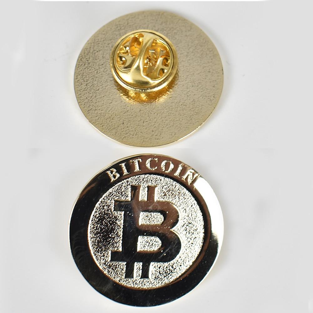 Gold Bitcoin Badge 3