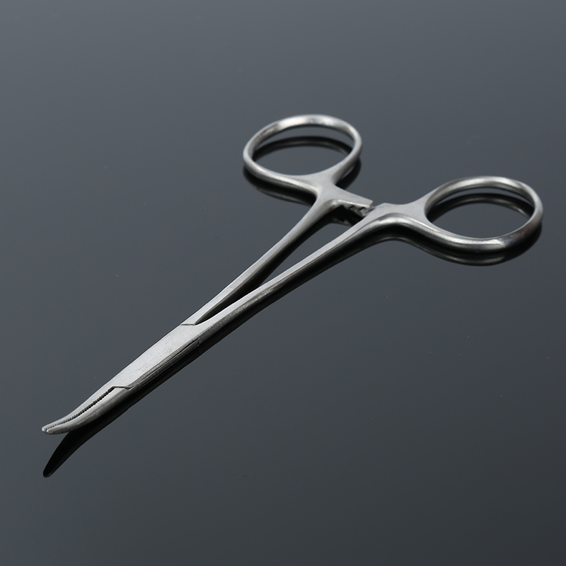 12.5CM Long Locking Forceps Straight Mosquito Hemostat Surgical Instrument