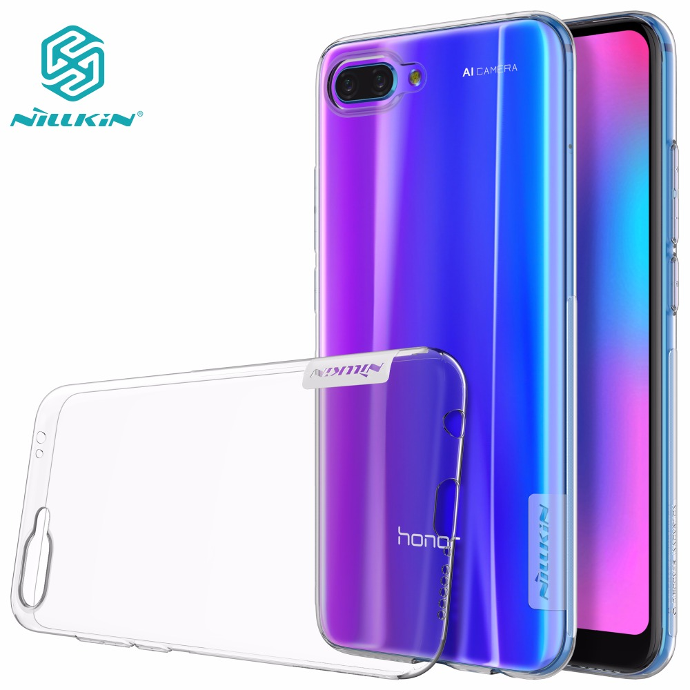 nillkin nature honor 9 - case for Huawei Honor 10 NILLKIN Nature TPU clear Transparent soft case honor 10 honor 9 back cover with retailed package