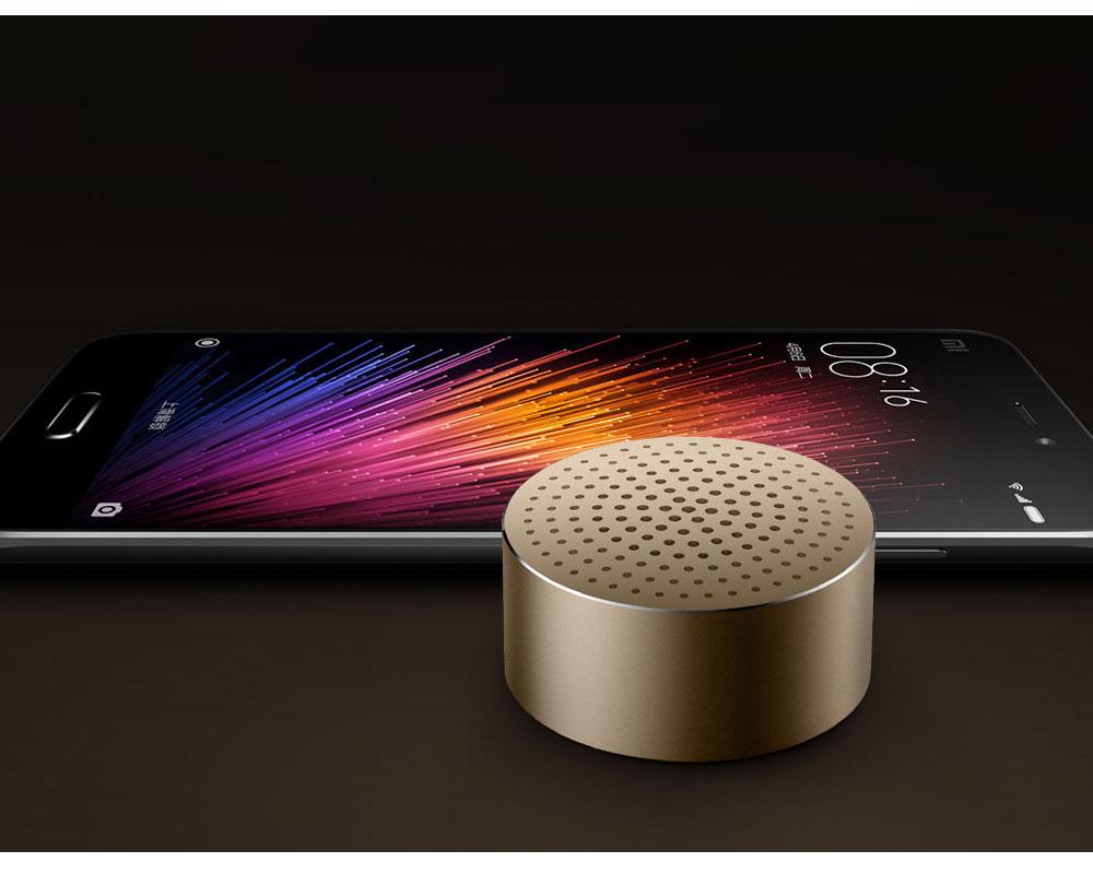 Xiaomi Mi Portable Bluetooth Speaker Built-in Mic 480mAh Battery Aluminium Alloy Body Bluetooth 4.0 Wireless Mini Mp3 Player (8)