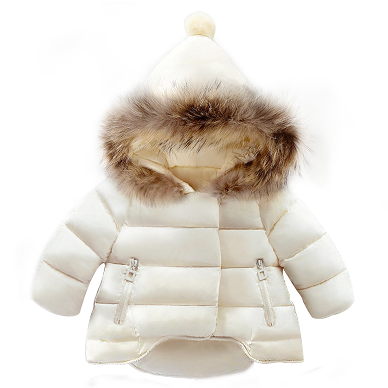 2018 Winter Baby Girls Coats Outwear Fashion Children Long Sleeve Children Jackets Clothing Warm Hooded Coat 1 2 3 4 5 6 Year baby boy s fashion hooded coats 2017 winter cartoons little monster cute long sleeve jackets children s clothing warm outerwear