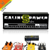 Caline CP 05 Guitar Effect Pedals Power Supply Ten Isolated Output 8 Way DC 9V