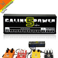 Caline CP-05 Guitar Effect Pedals Power Supply Ten Isolated Output (8 Way DC 9V & 1 Way DC 12V & 1 Way 18V) voltage protection