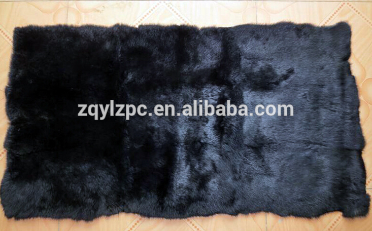High Quality Natural Rex Rabbit Fur PlateHigh Quality Natural Rex Rabbit Fur Plate