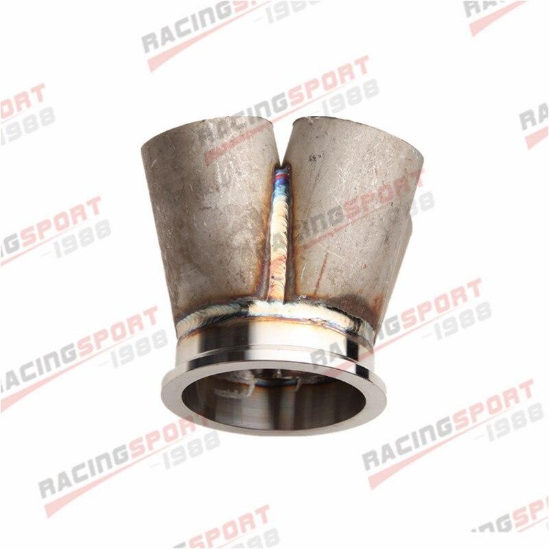 4-1 4 cilindro Collettore Header Collettore di Unione In Acciaio Inox 3