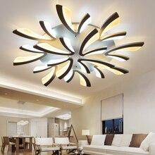 Dandelion Acrylic Modern Led Ceiling Lights Dia120 100 80 70 60cm For Dining Room Bedroom Home Lighting Iron Lamp
