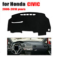 car dashboard cover For Honda Civic 2006-2010 Avoid light pad  Instrument platform desk pad