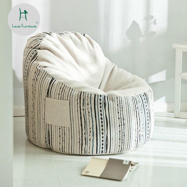 mini bean bag chair swing gazebo louis fashion sofas lazy man small apartment bedroom balcony single nordic modern simple