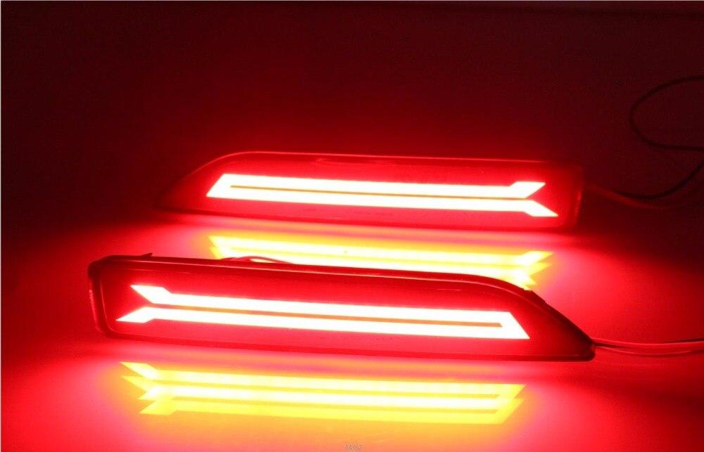 Osmrk Сид управляя свет, стоп-сигнал, сигнальная лампа для Хонда CRV 2007-9, город 2012-14, брв 2015-16, 2016-17 MOBILIO, светодиодные панели
